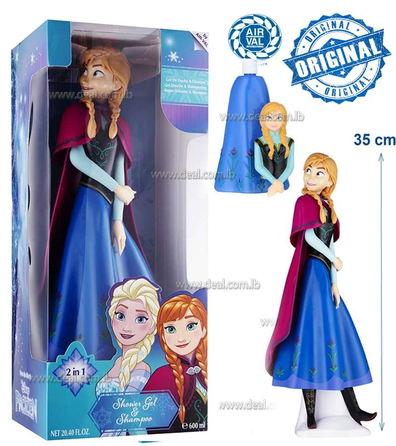 EP LINEFrozen 3D Anna Shower Gel And Shampoo 2 In 1