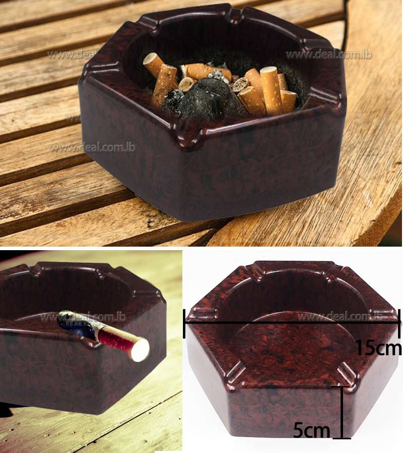 Plastic Cigarette ashtray