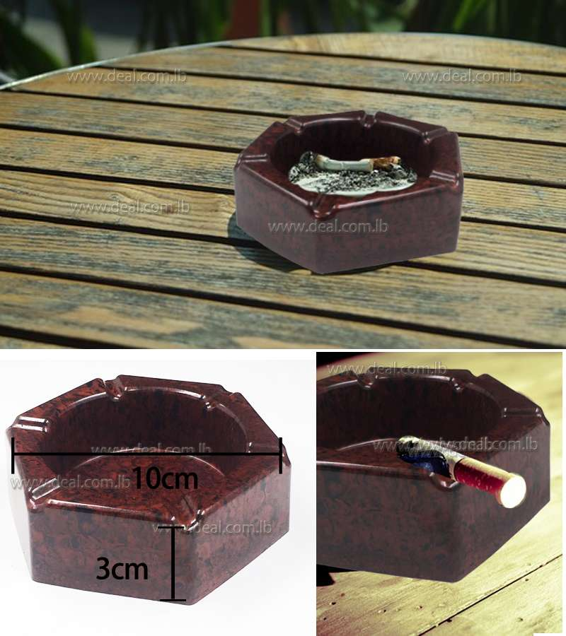 10cm*3cm Plastic Ashtray