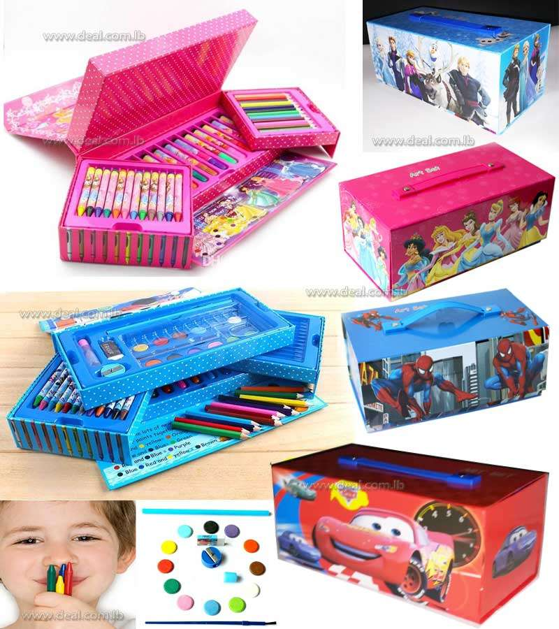 watercolor painting suit suitcase combination brush pen