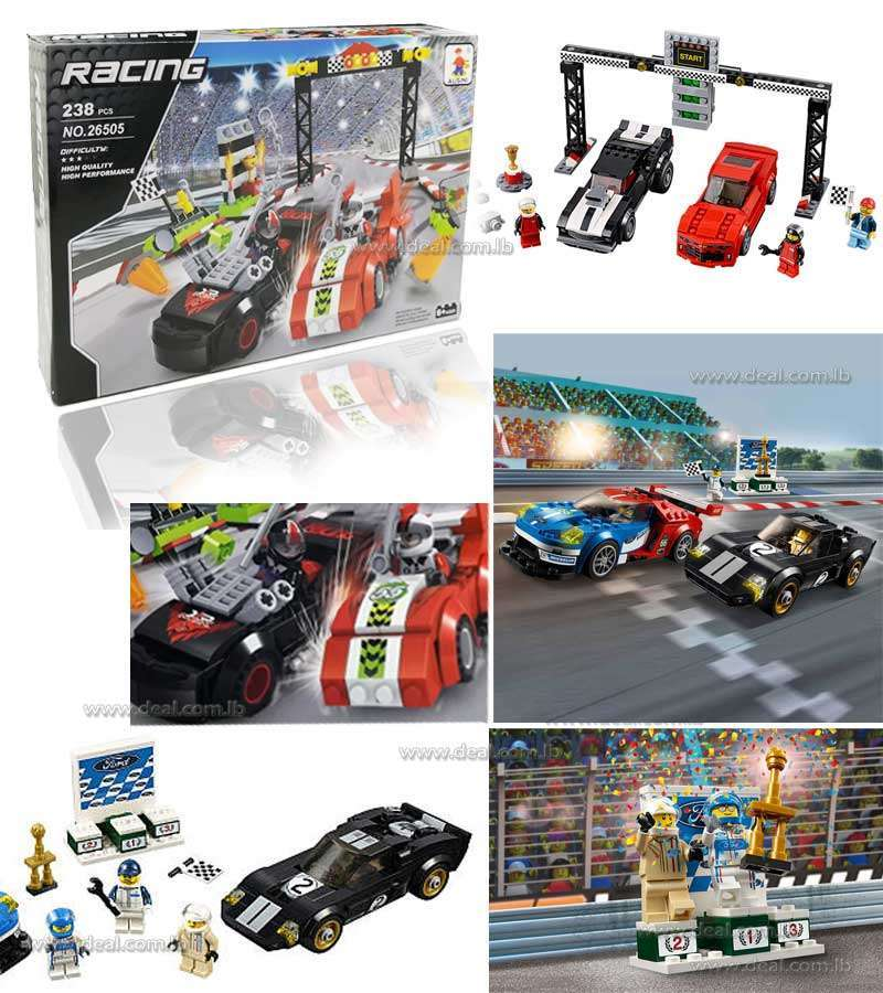 LEGO Speed Champions Race cars