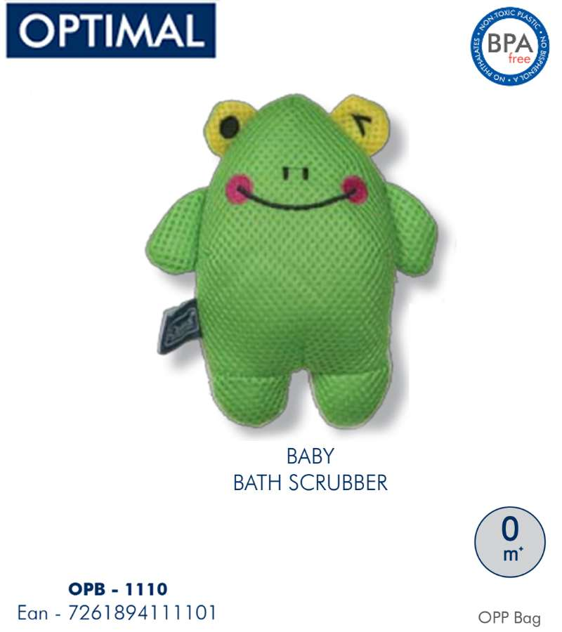 Green Bath Scrubber 0M+