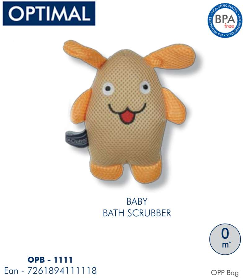 Orange  Bath Scrubber 0M+