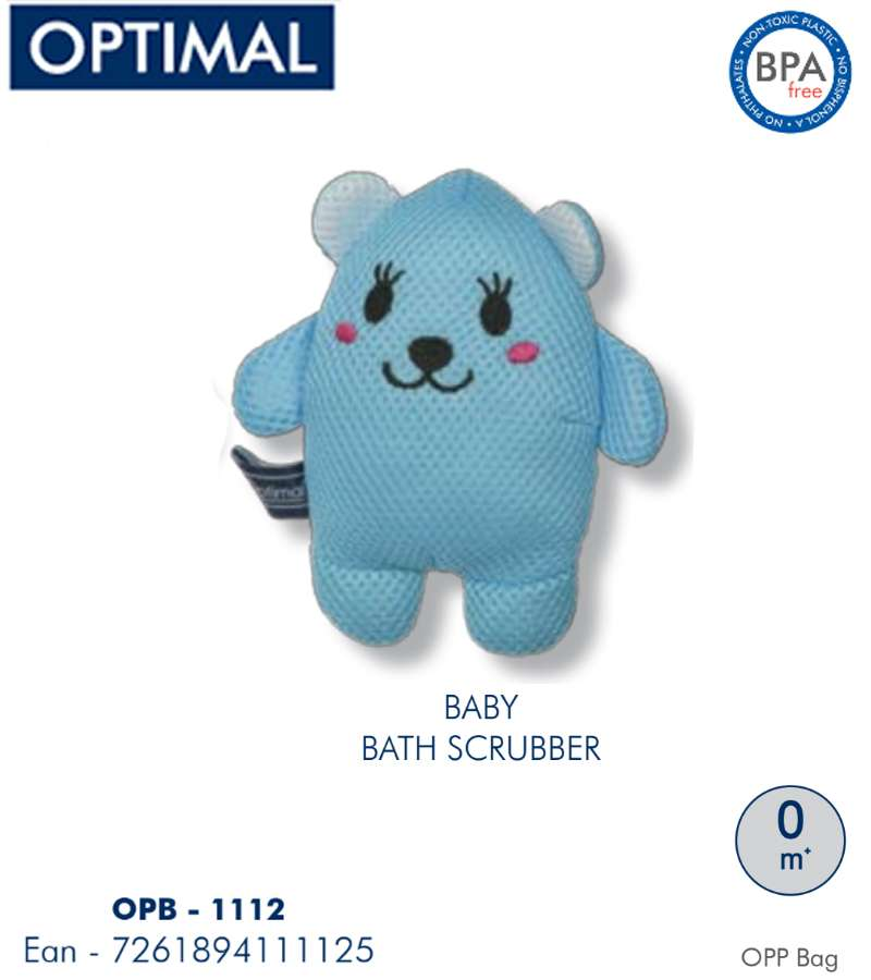 Blue Bath Scrubber 0M+