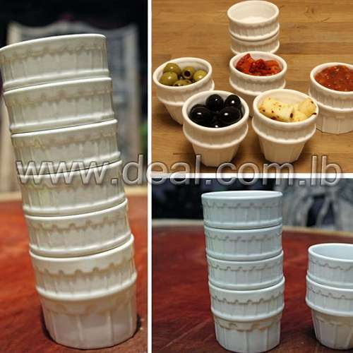 Leaning Tower Cups 6pcs