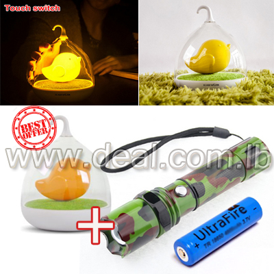 Best offer  Birdcage lamp   Military flashlight 15