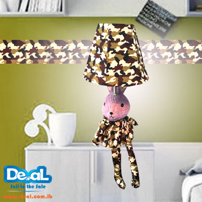 Rabbit Military camouflage lamp