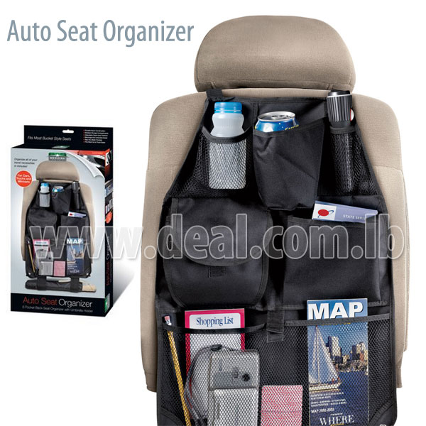 Car Seat Organizer For Auto Seat Back