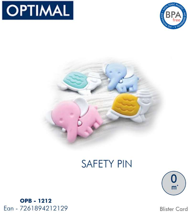 2 PCS Animals Shape Safety Pins 0M+