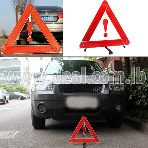 Roadside Safety Triangles Warning Emergency Sign T