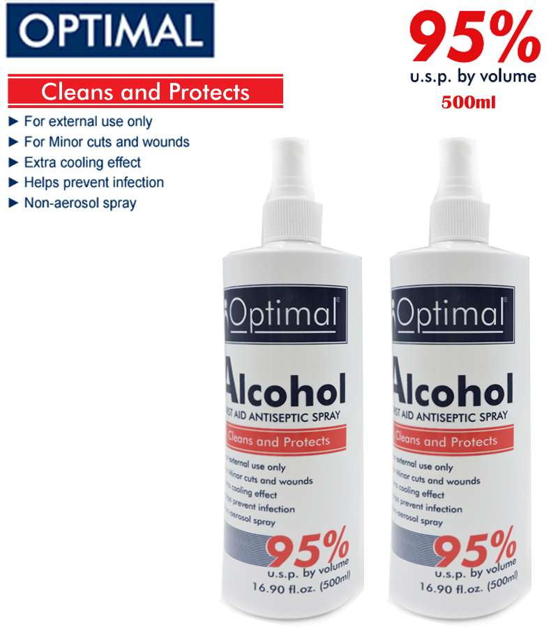 95% Optimal ALCOHOL Sprayers  500ml