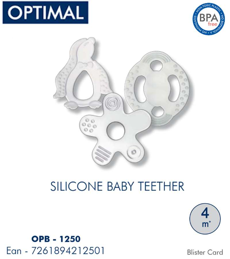 Silicone Baby Teether 4M+