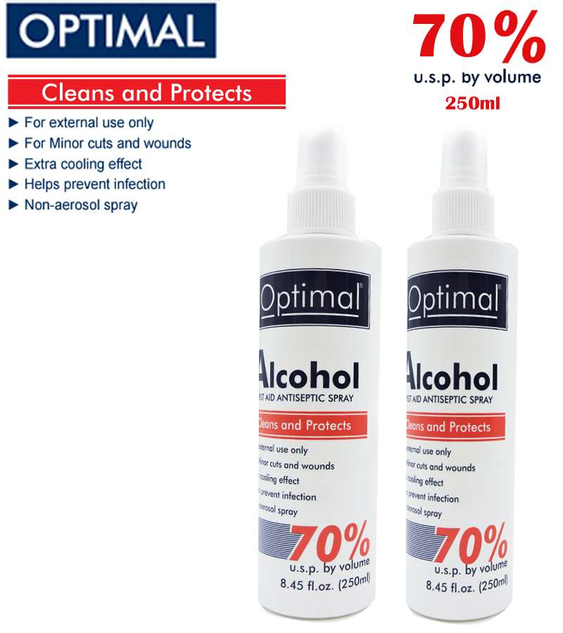 70% Optimal ALCOHOL Sprayers 250ml