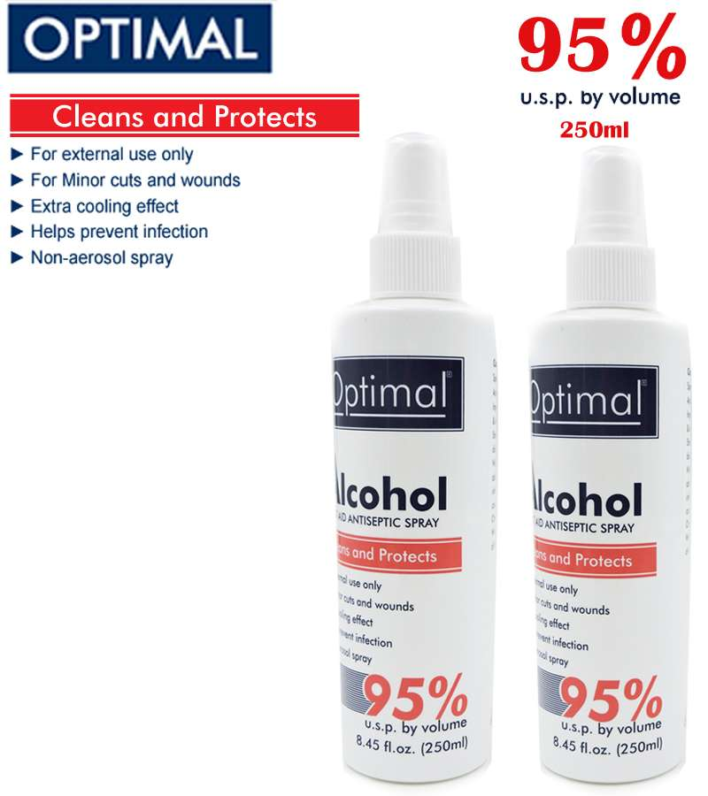 95% Optimal ALCOHOL Sprayers 250ml