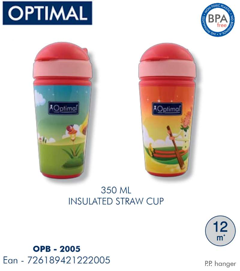 350ml Insulated Straw Cup 12M+