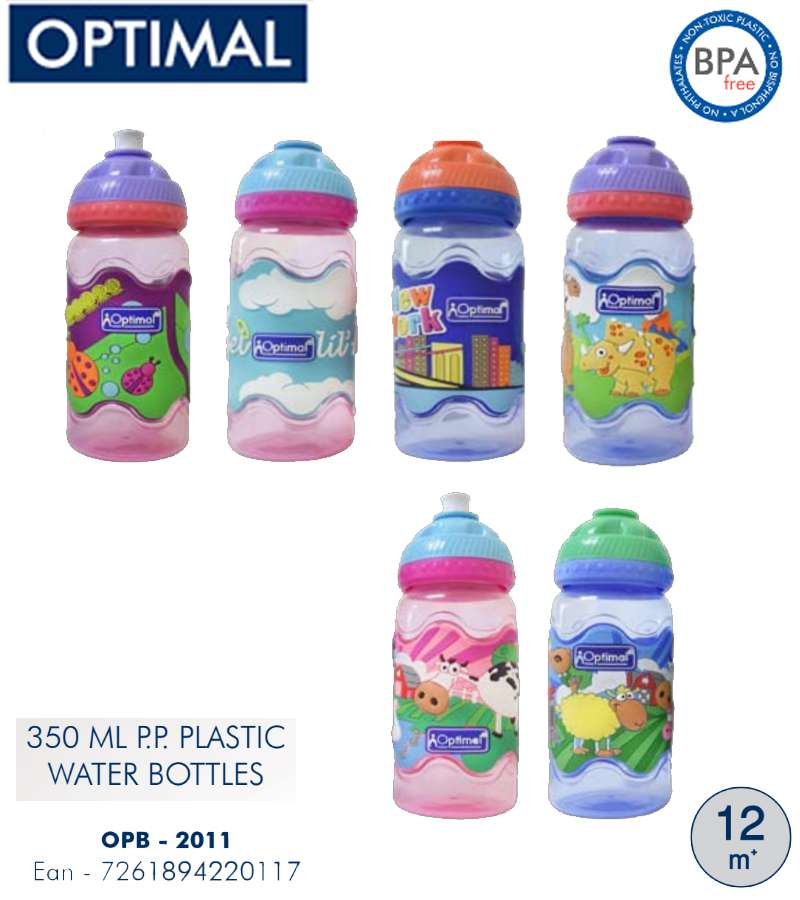 350ml P.P. Plastic Water Bottle 12M+