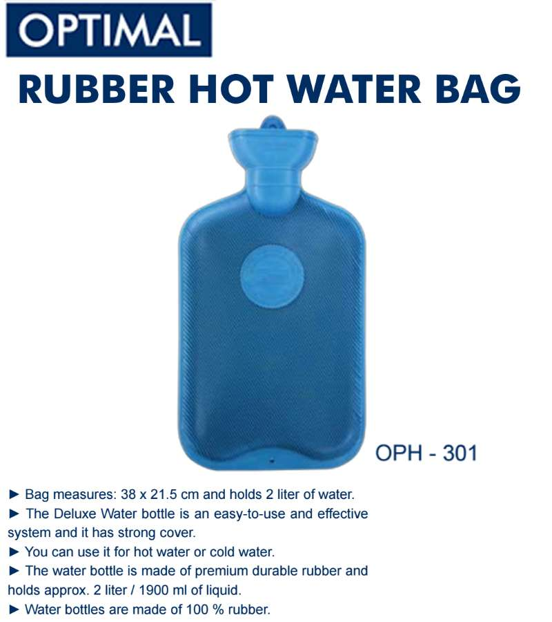 2L Rubber Heat Water Bag