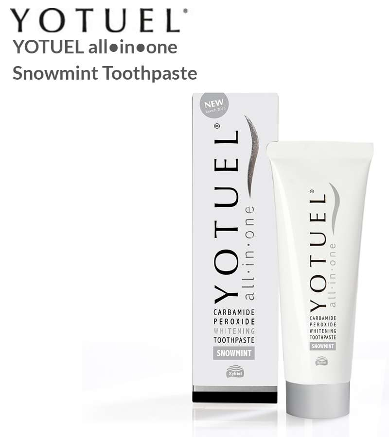 YOTUEL all�in�one Snowmint Toothpaste