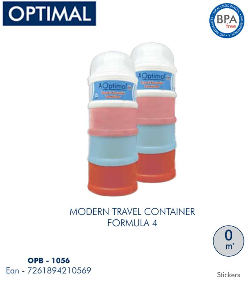 4 Layers Travel  Milk Formula Container