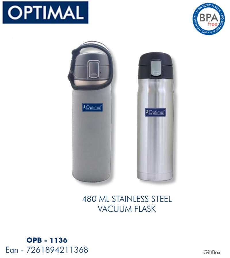 480 ml Stainless Steel Thermos vacuum Flask