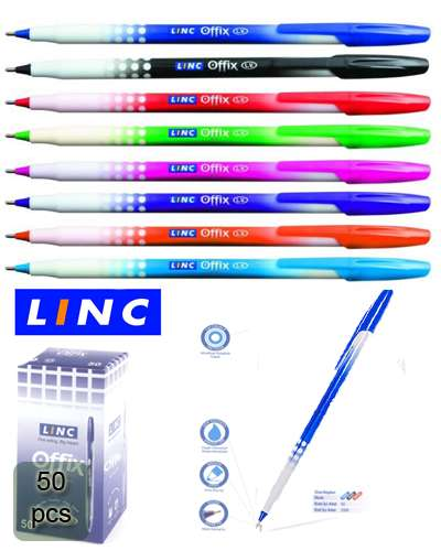 50 pcs Linc Offix Ball Pen 0.7mm