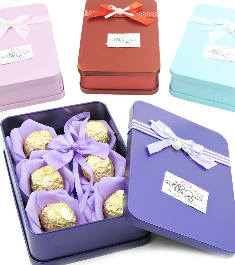 6 Chocolates small Gift Box