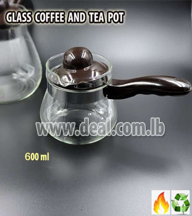 600ml glass Coffeepots