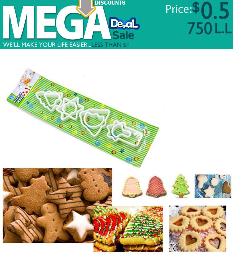 8 Pcs Collections Cookies Cutter