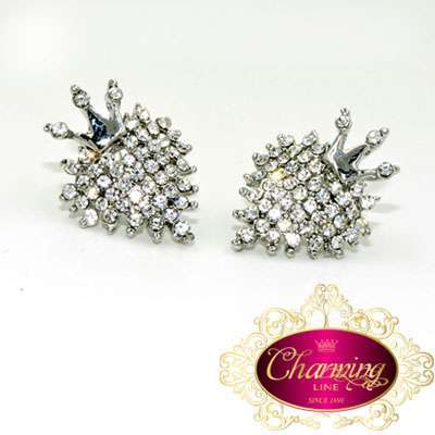 Queen Princess Crown Earrings