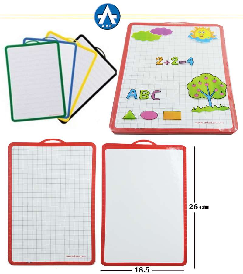 ARK A4 White Board 185mmx260mm