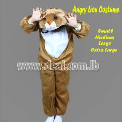 Angry Lion Kids Costume