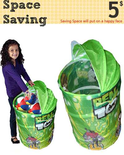 Ben Ten Basket for Kids