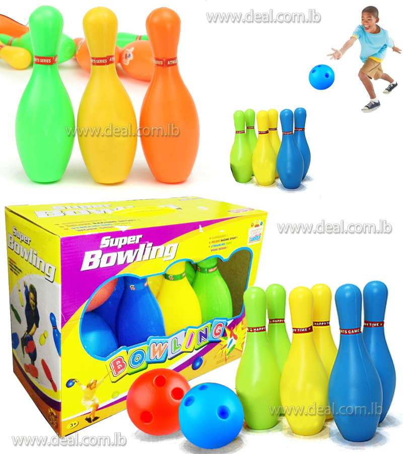 Bowling Set With 2 Balls