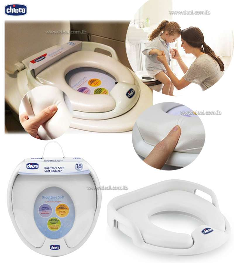 CHICCO SOFT TOILET TRAINER SAFE HYGINE