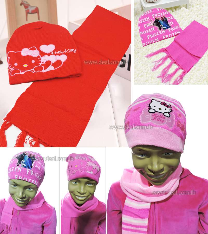 Casual Child Hat Scarf Set