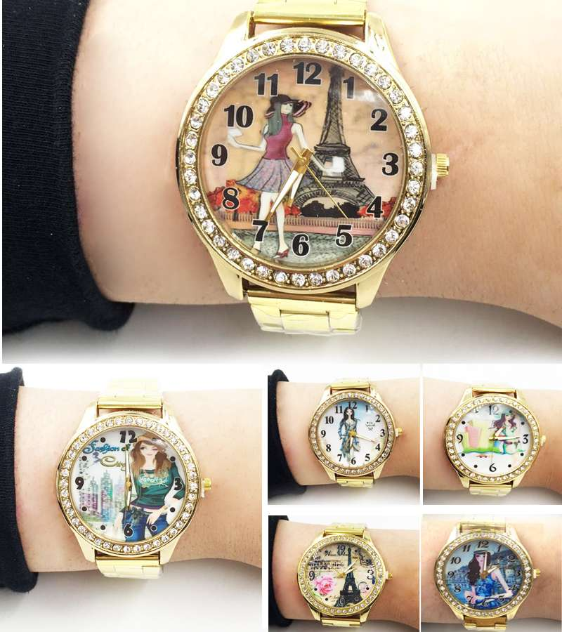Casual Girls character watches