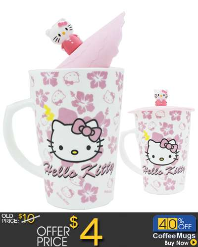 Ceramic Mug Coffee Cup Hello Kitty with character
