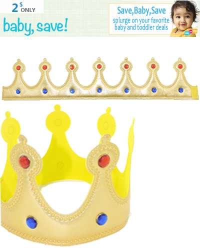 Children Crown  Dress Up Gift