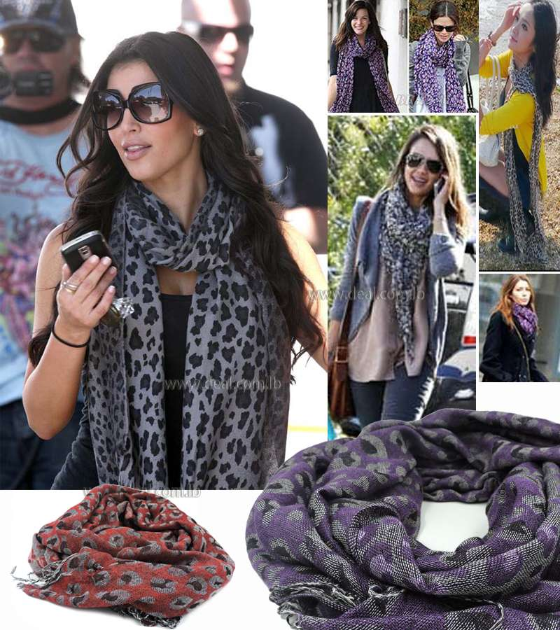Classic Scarf Trendy Hot Large Leopard wrinkled Women Scarves Voile Scarf for Women Sexy Ladies