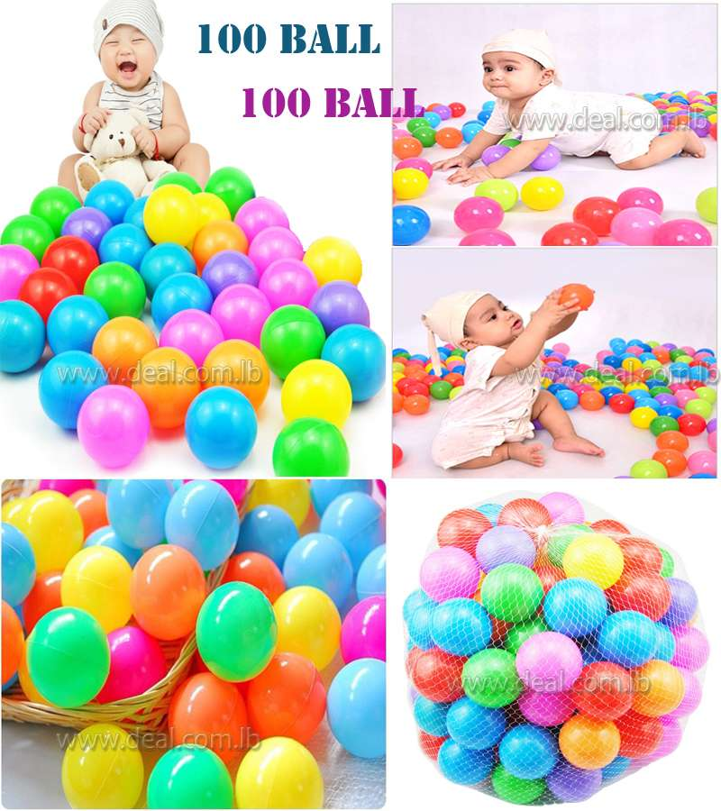 Colorful Soft Plastic Ball