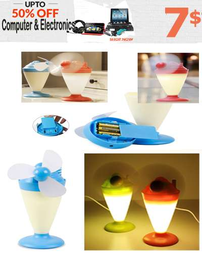 Creative Lamp Night Light Mini Ice Cream