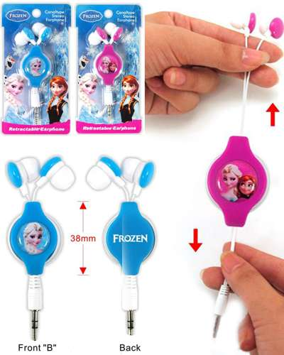 Disney Frozen Elsa Princess 3.5 mm Earphone