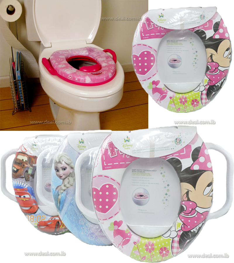 Disney SOFT TOILET TRAINER SAFE HYGINE