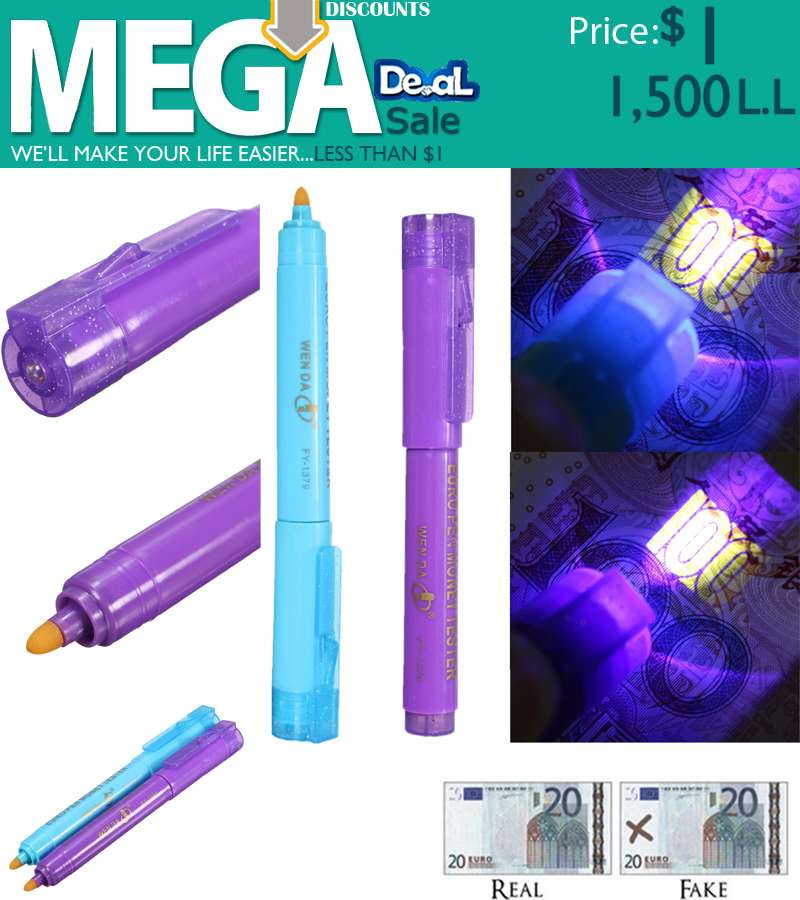 Euro pen Money Tester