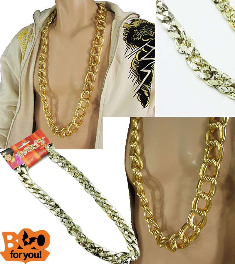 Hip Hop Cuban Curb Link Chain Necklace
