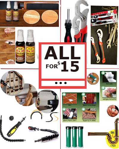 Home Improvement Tools Combo