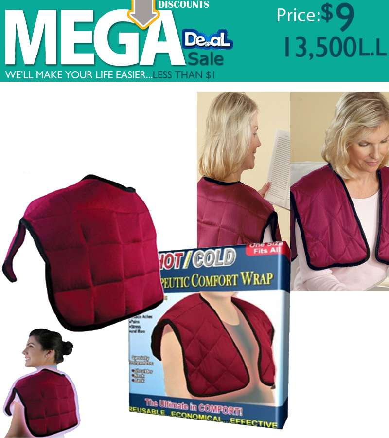 Hot and cold Therapeutic Comfort Wrap