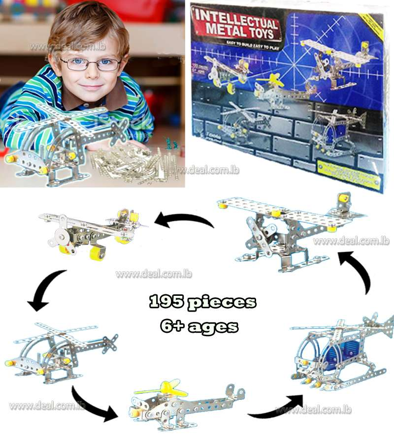 Intellectual Metal Toys airplanes