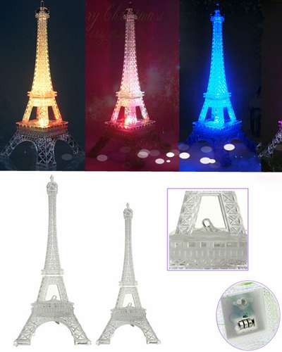 LED Acrylic Paris Eiffel Tower