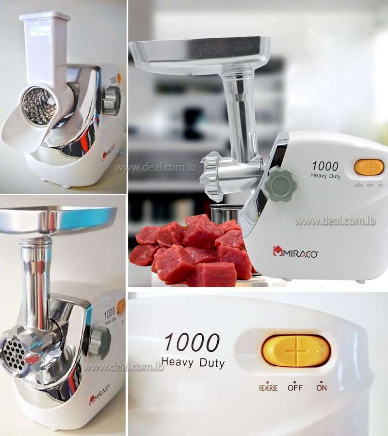 MIRACO 1200W ELECTRIC MEAT GRINDER AK-2509